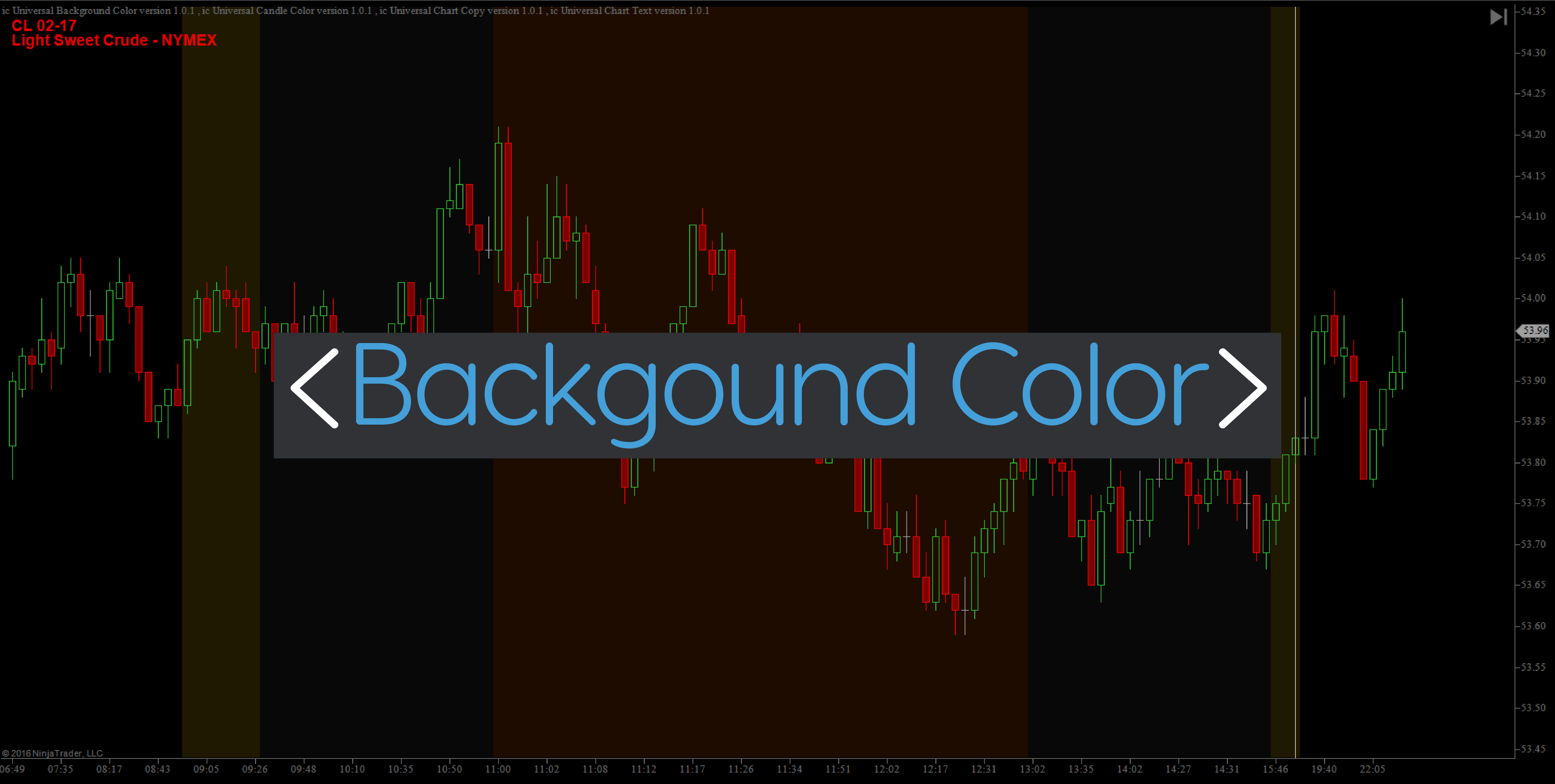 Background Color Indicator